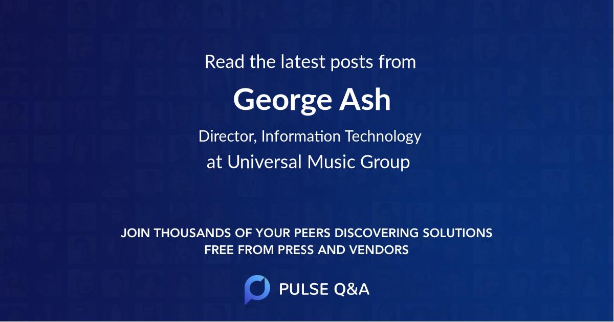 George Ash