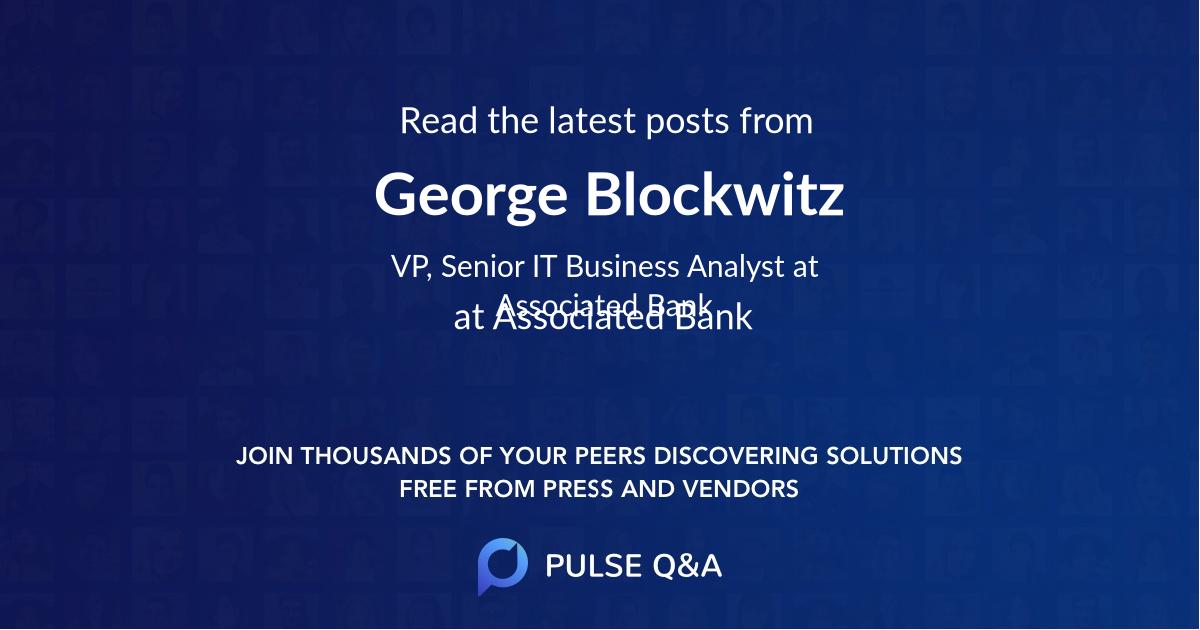 George Blockwitz