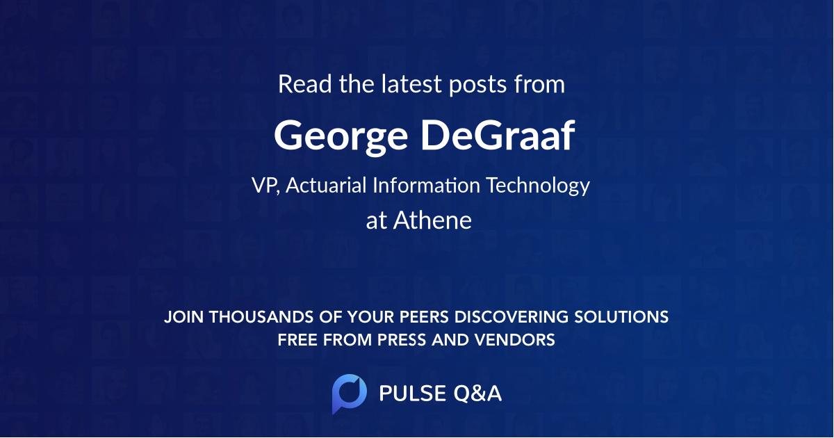George DeGraaf