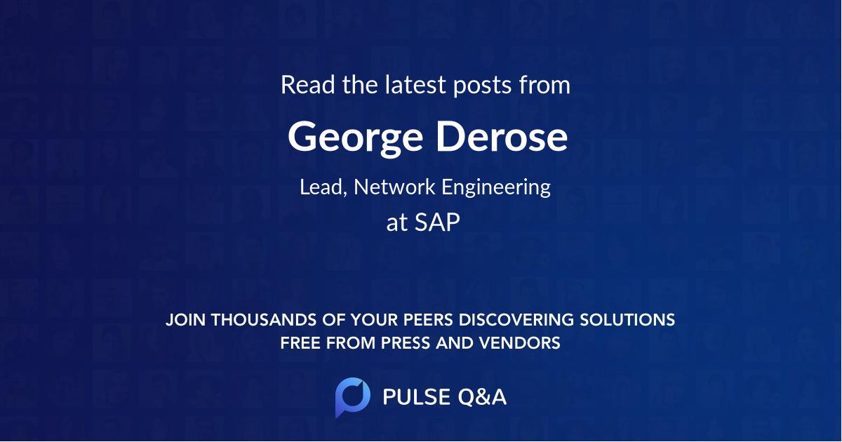 George Derose