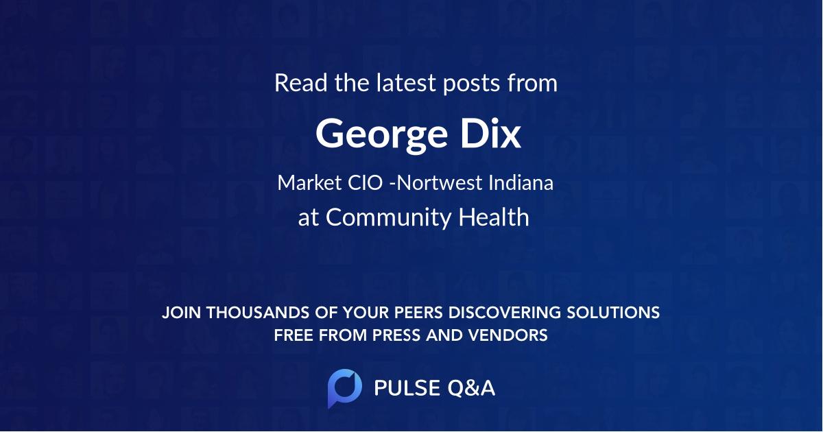 George Dix