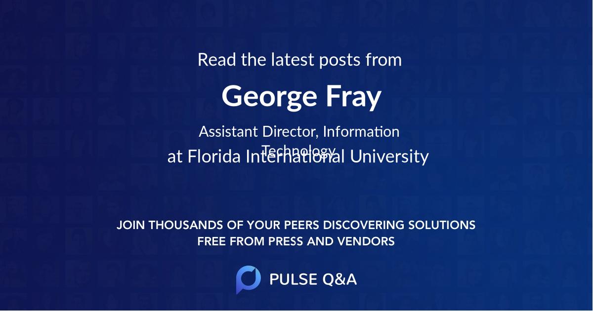George Fray