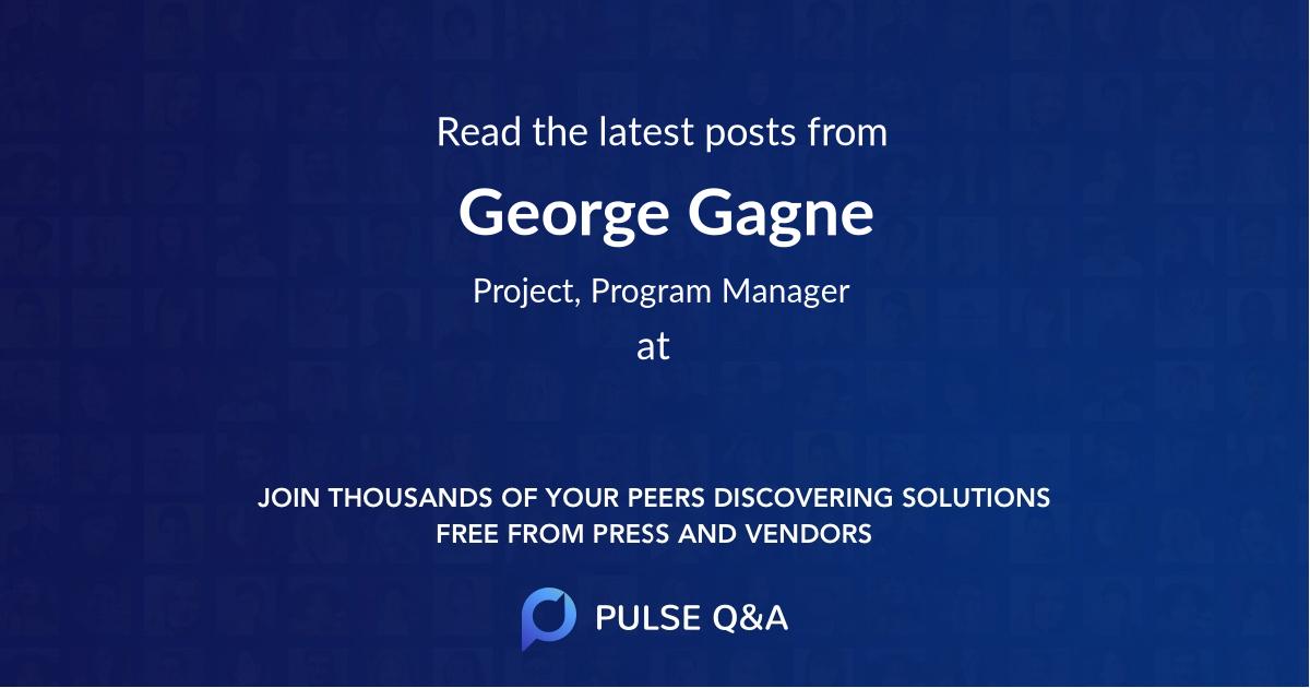 George Gagne