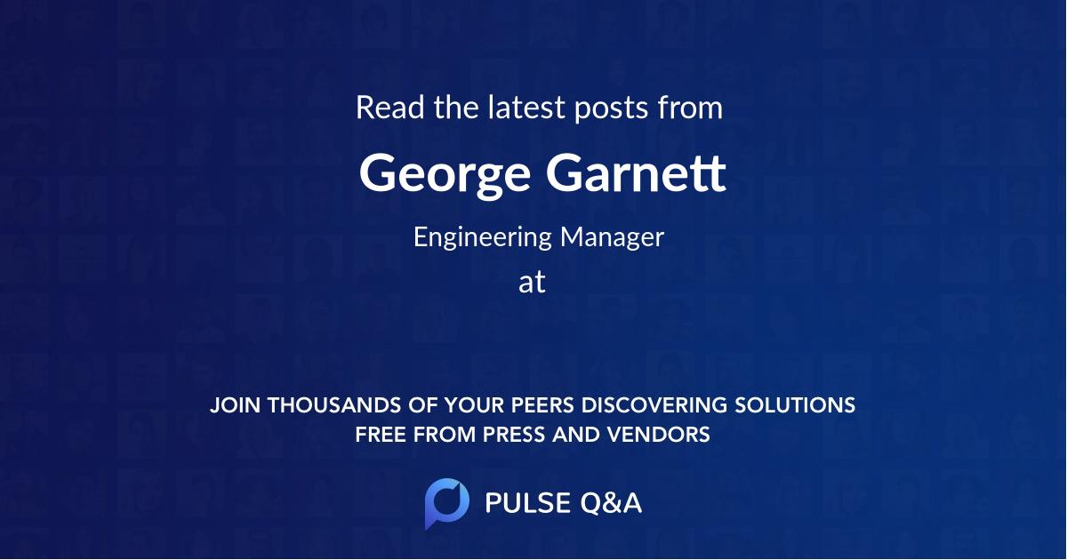 George Garnett