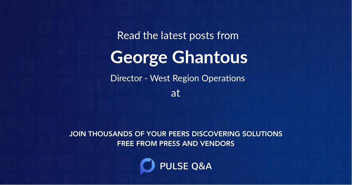 George Ghantous