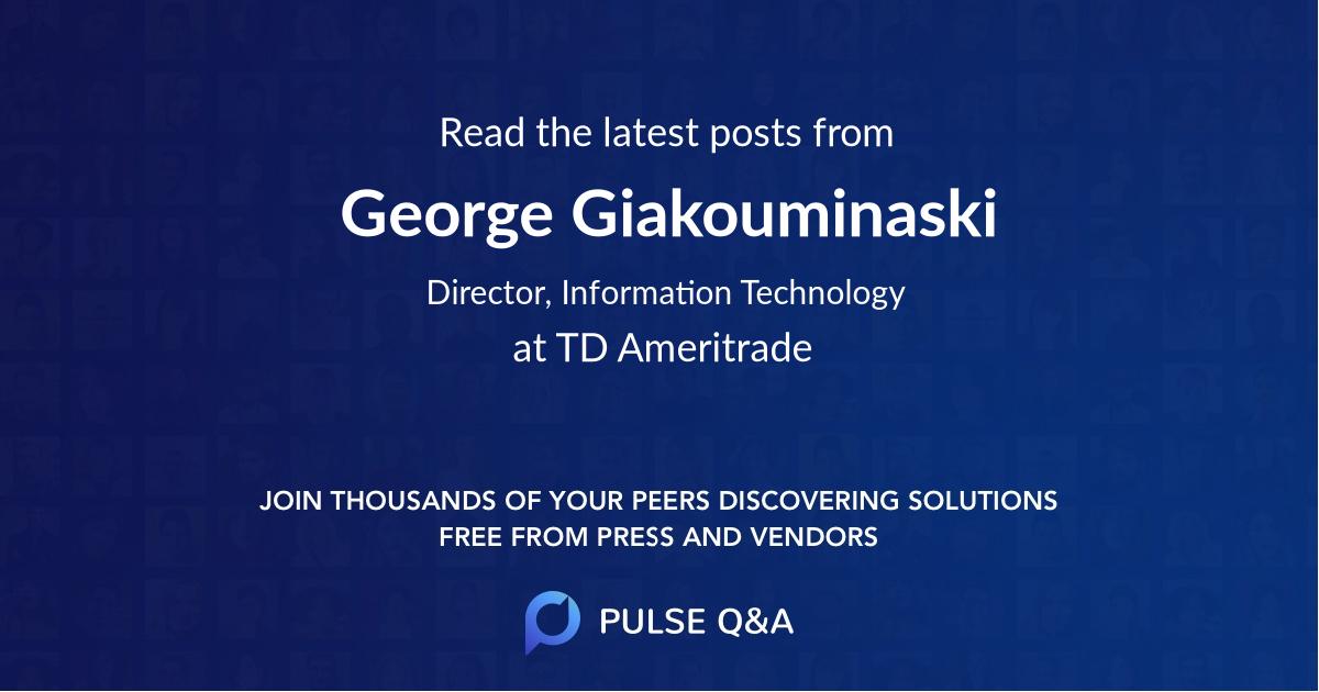George Giakouminaski