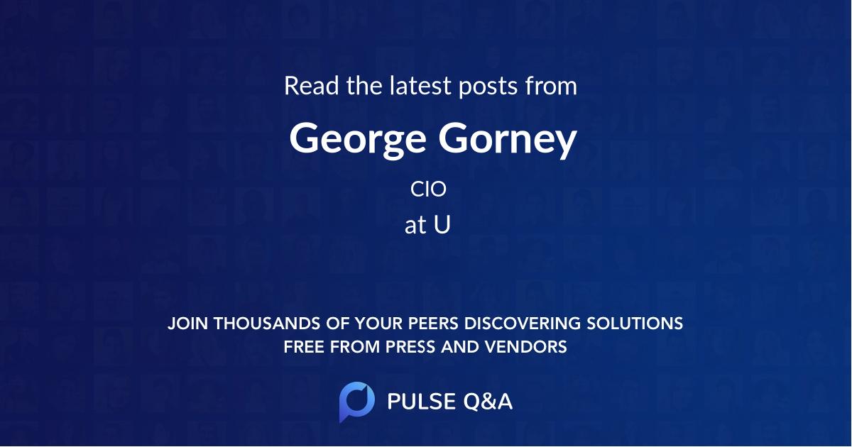 George Gorney