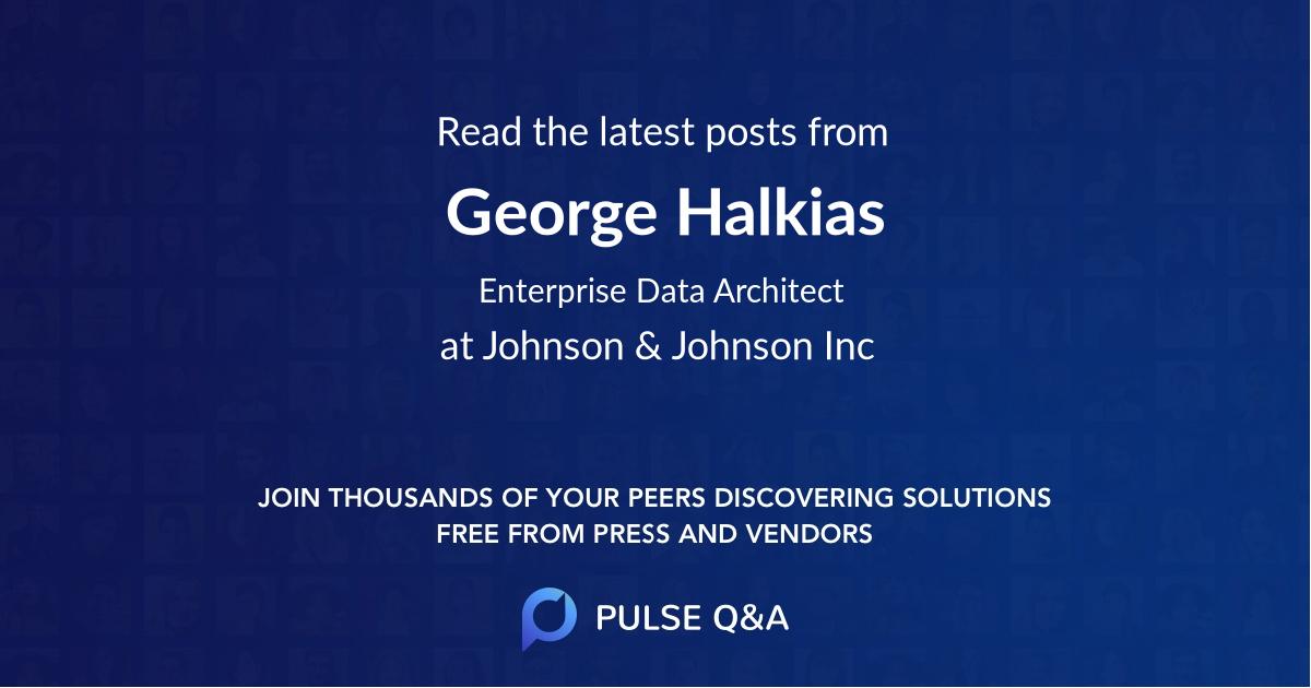 George Halkias
