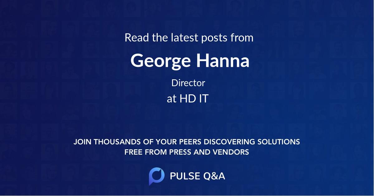 George Hanna