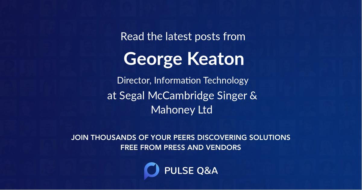 George Keaton