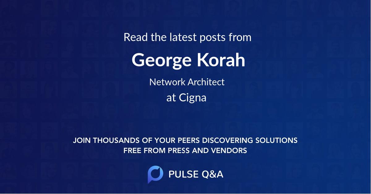 George Korah
