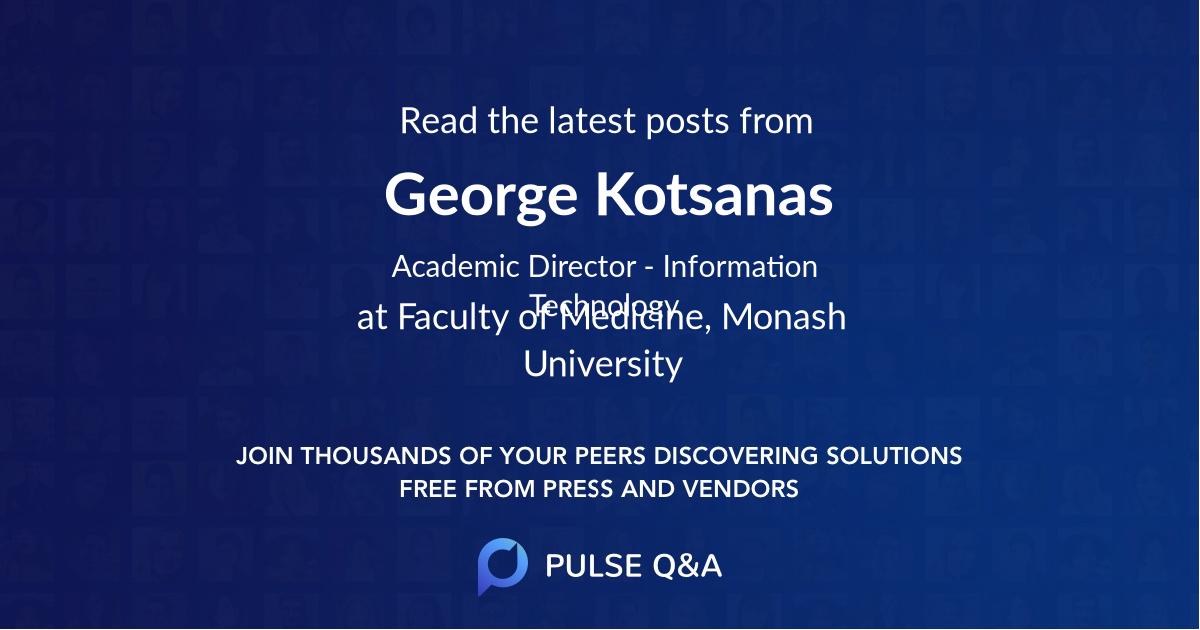 George Kotsanas