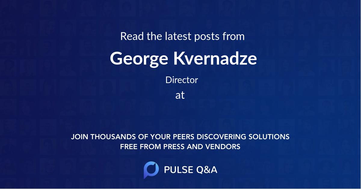 George Kvernadze