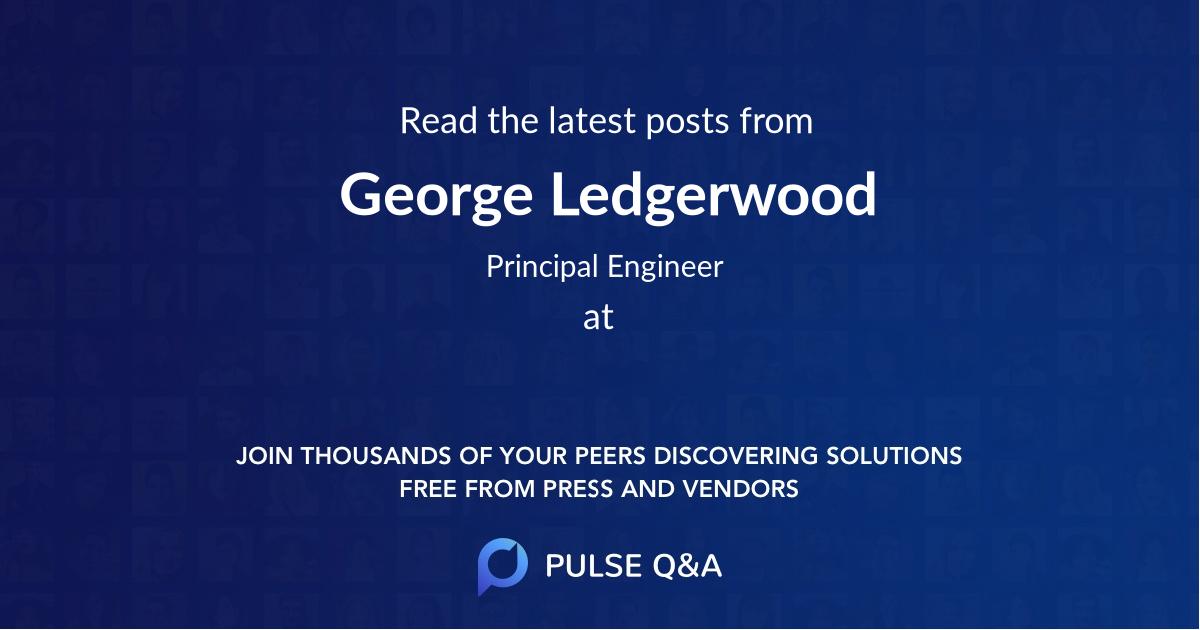 George Ledgerwood
