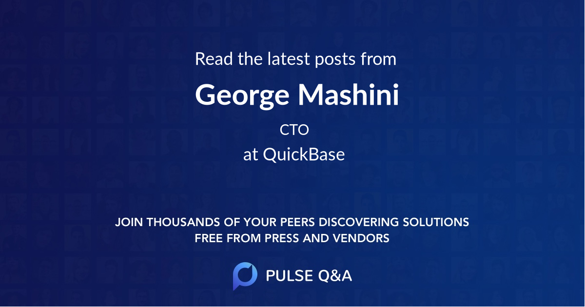 George Mashini