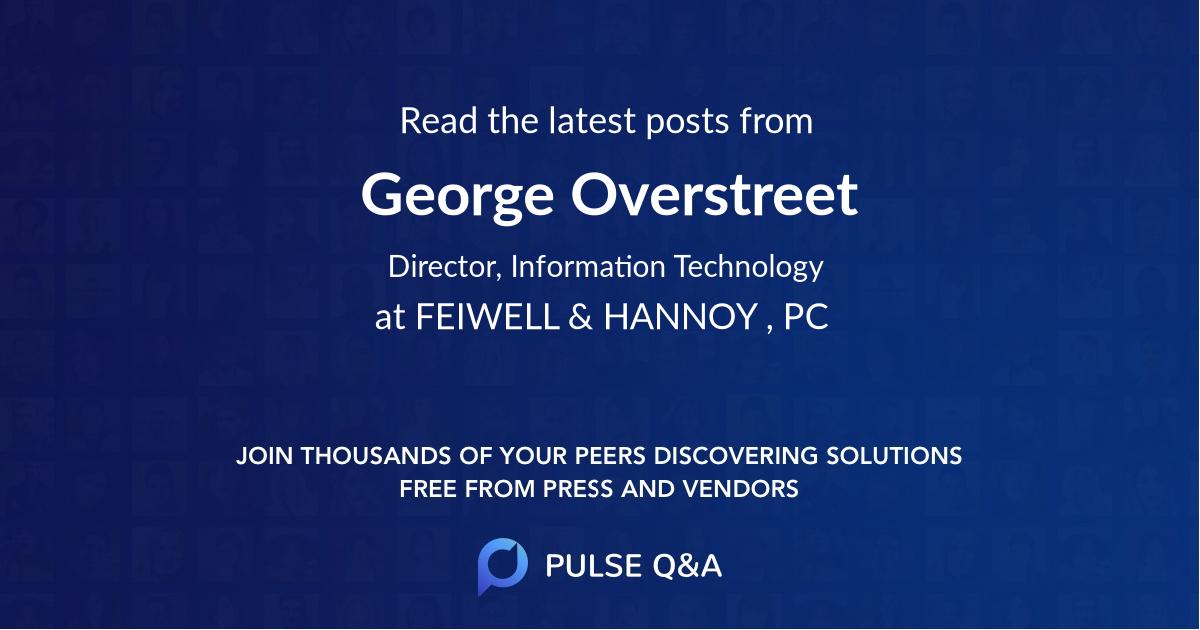 George Overstreet