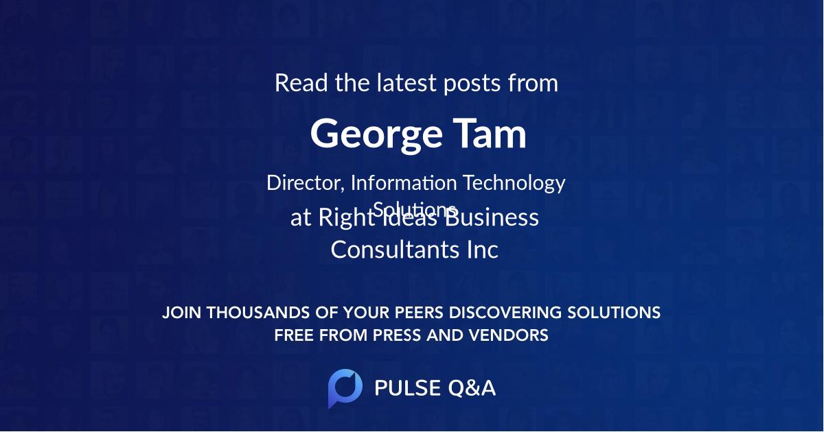 George Tam