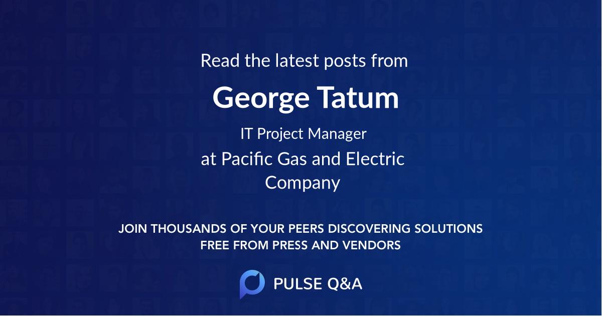 George Tatum