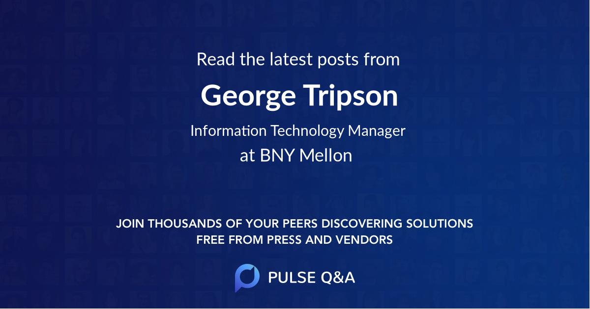 George Tripson