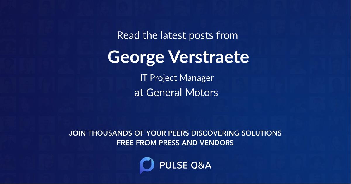 George Verstraete