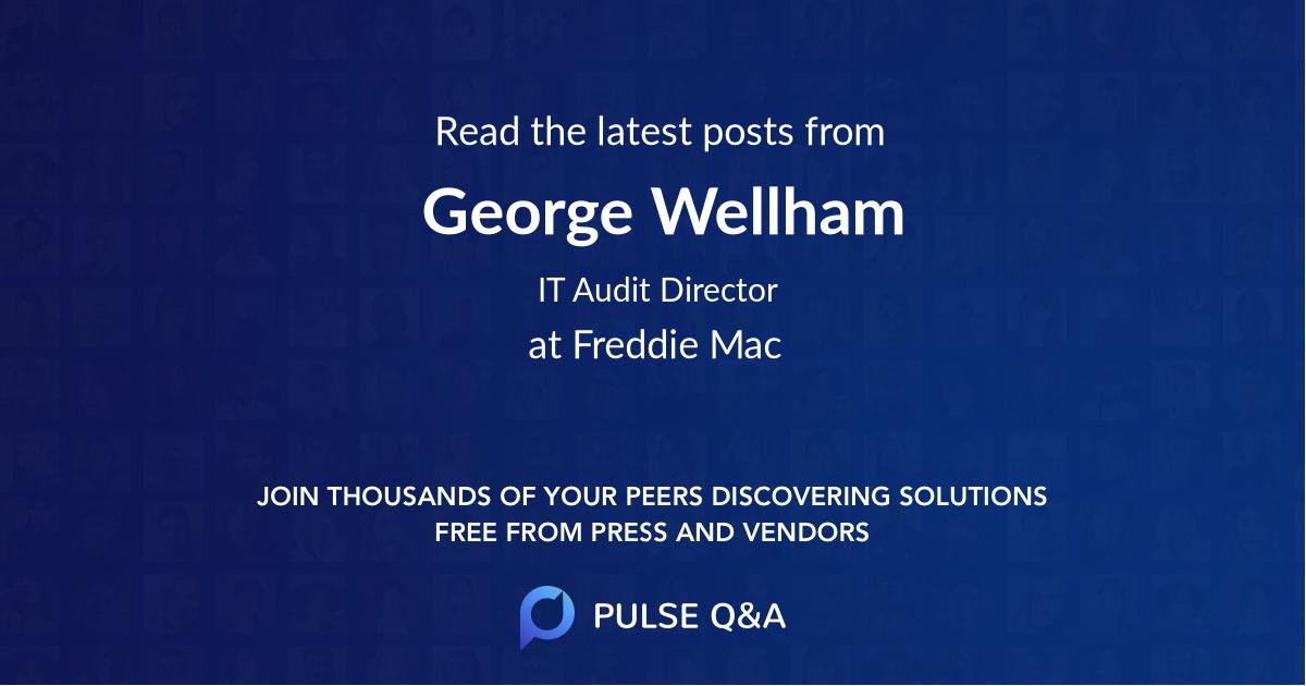 George Wellham