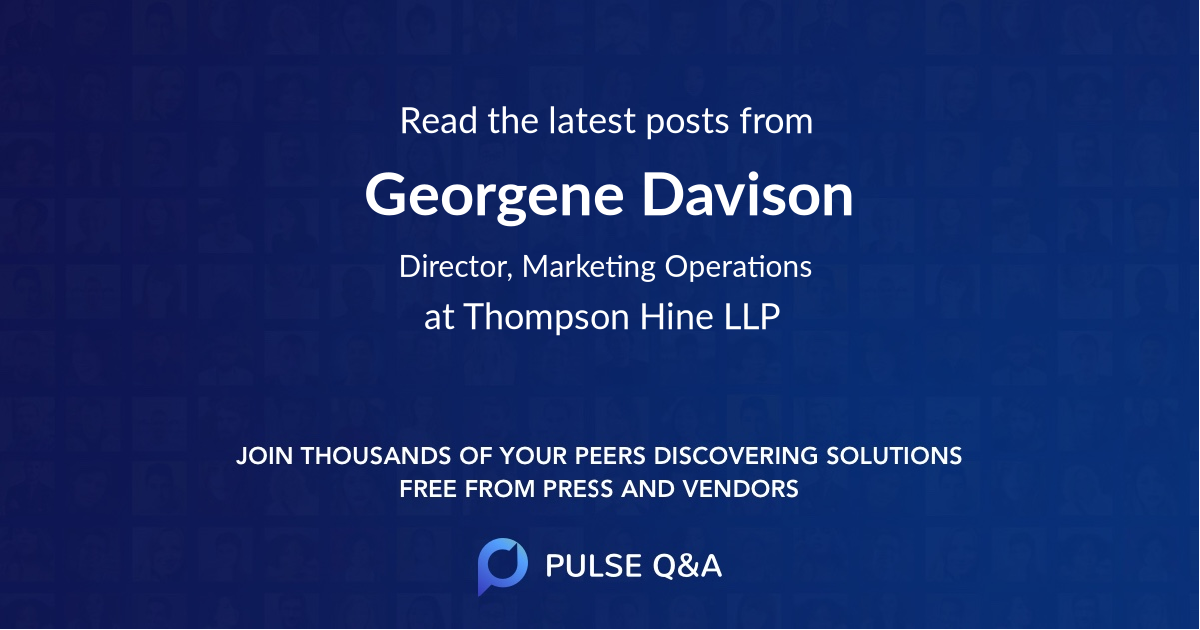 Georgene Davison