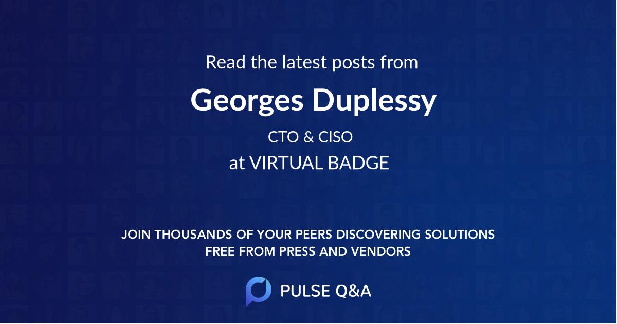 Georges Duplessy