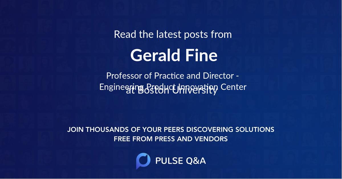 Gerald Fine