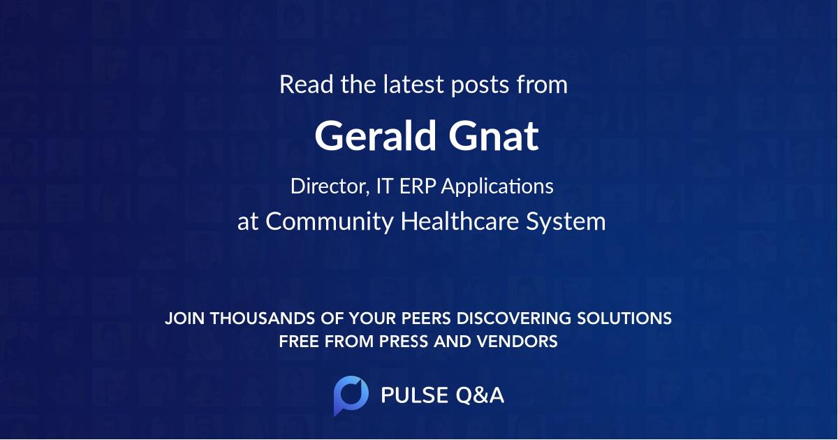 Gerald Gnat