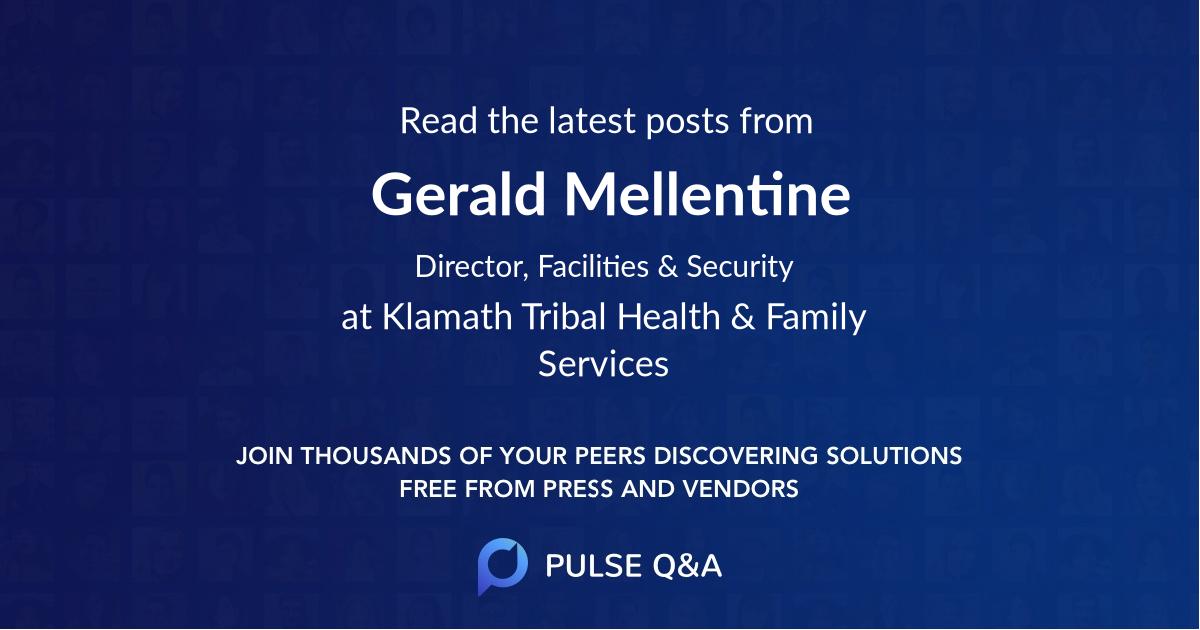 Gerald Mellentine