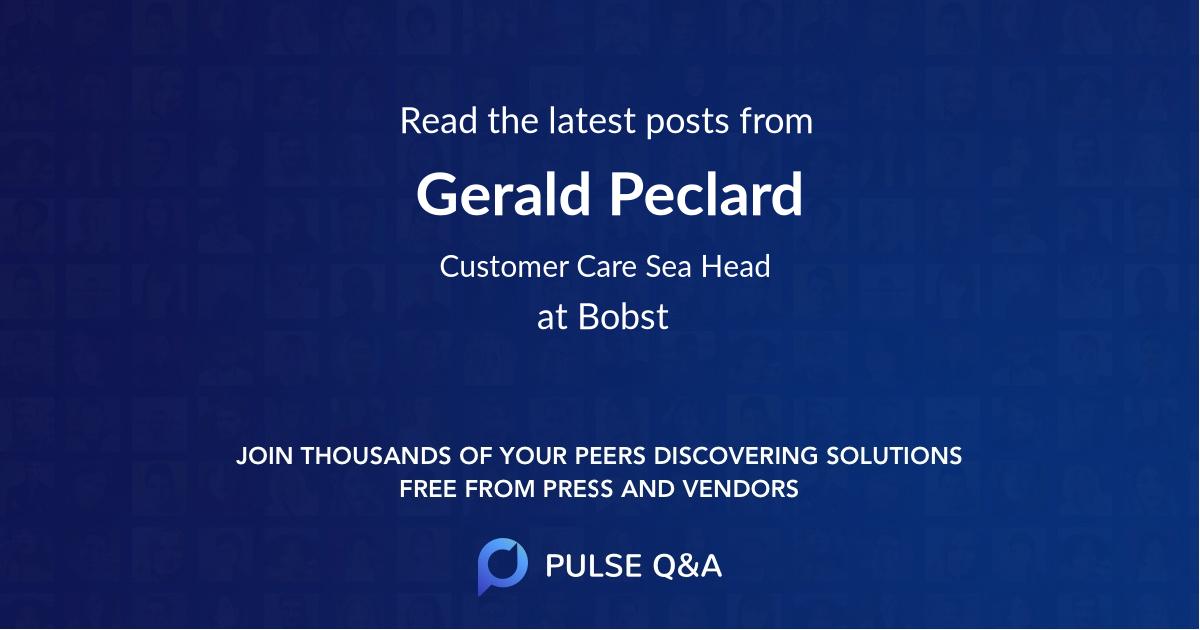Gerald Peclard