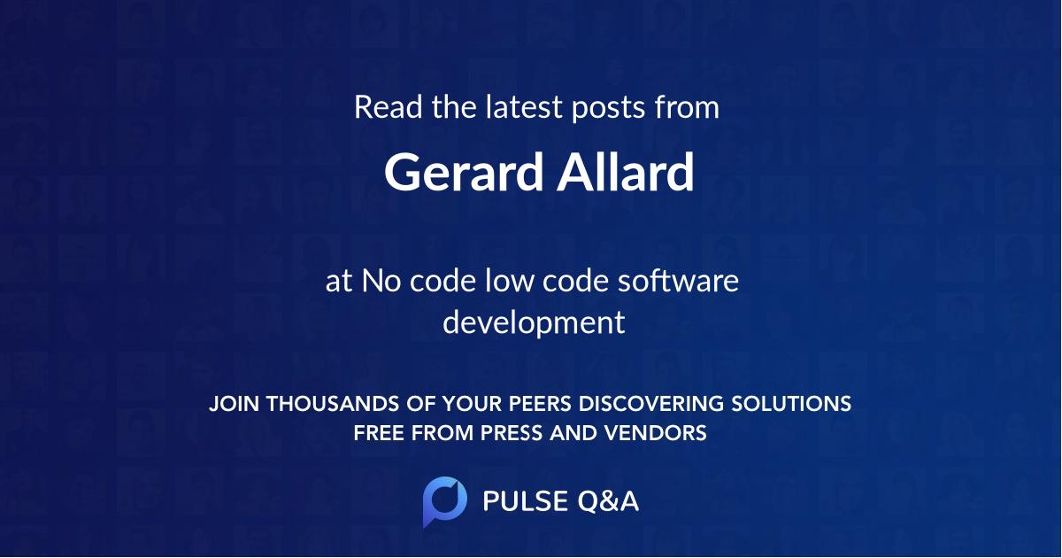 Gerard Allard