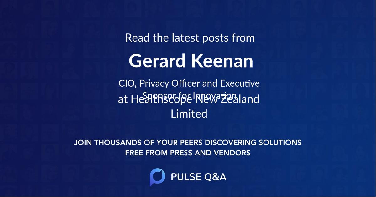 Gerard Keenan