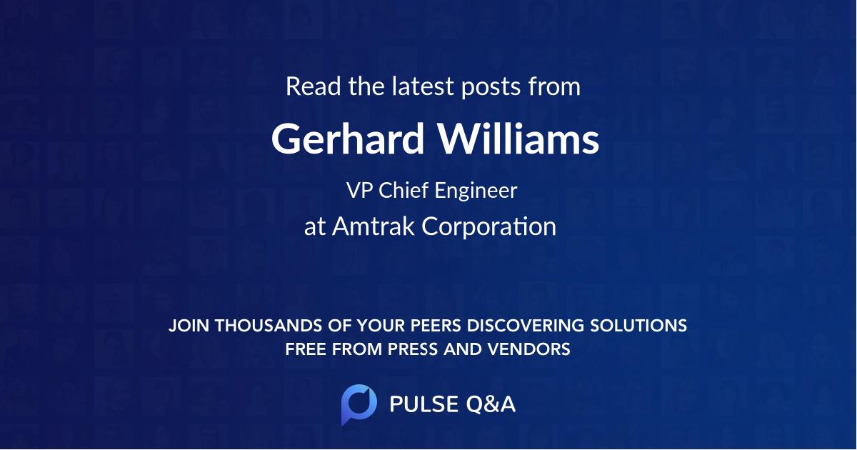 Gerhard Williams