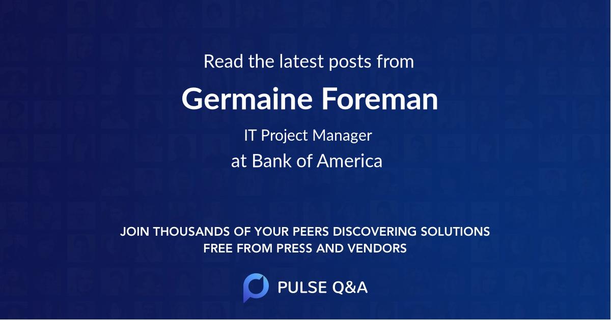 Germaine Foreman