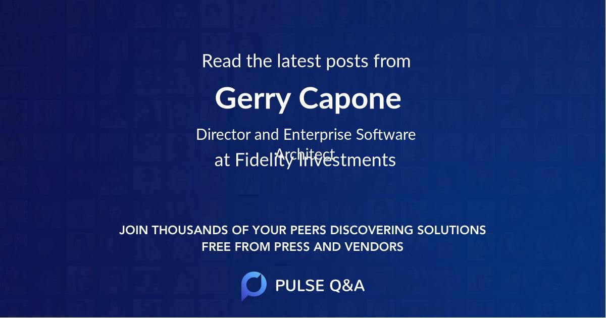 Gerry Capone