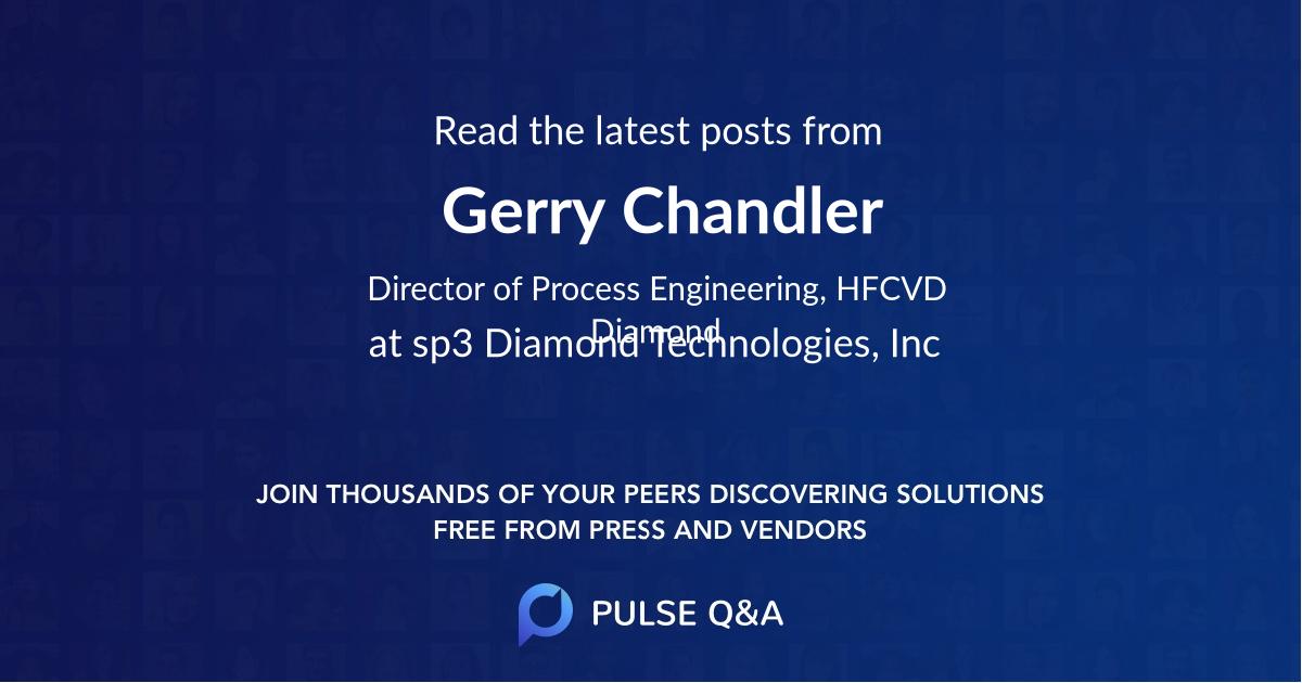 Gerry Chandler