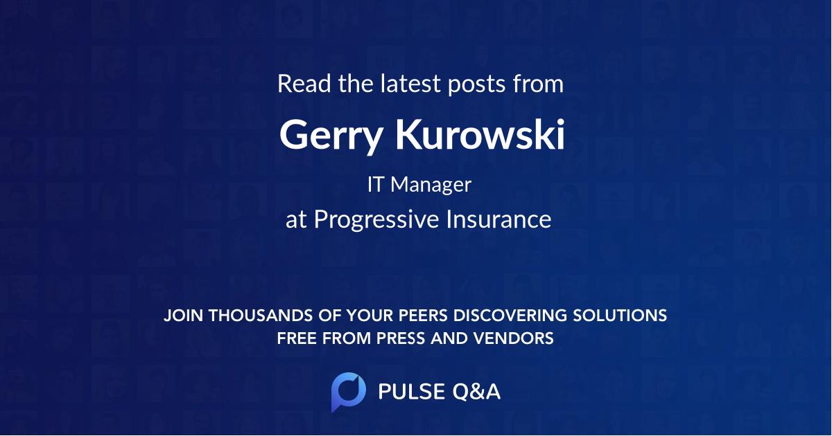 Gerry Kurowski