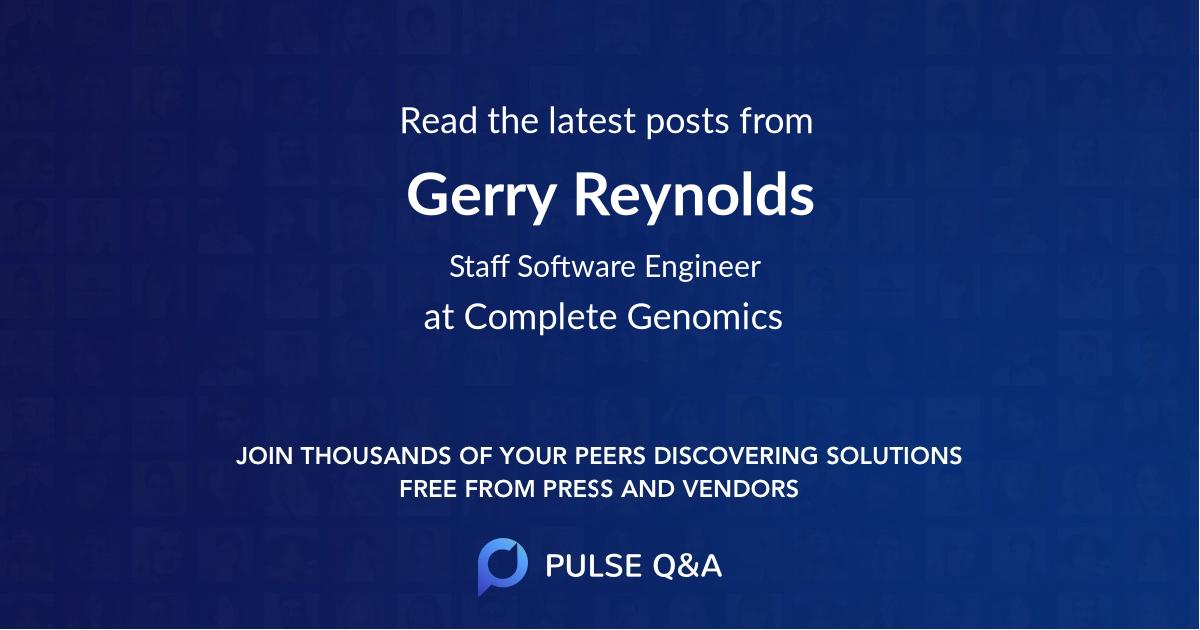 Gerry Reynolds