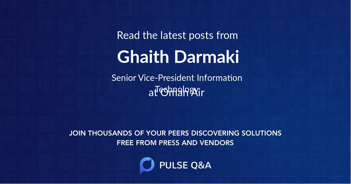 Ghaith Darmaki