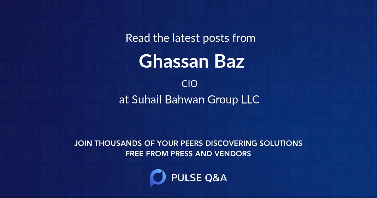 Ghassan Baz