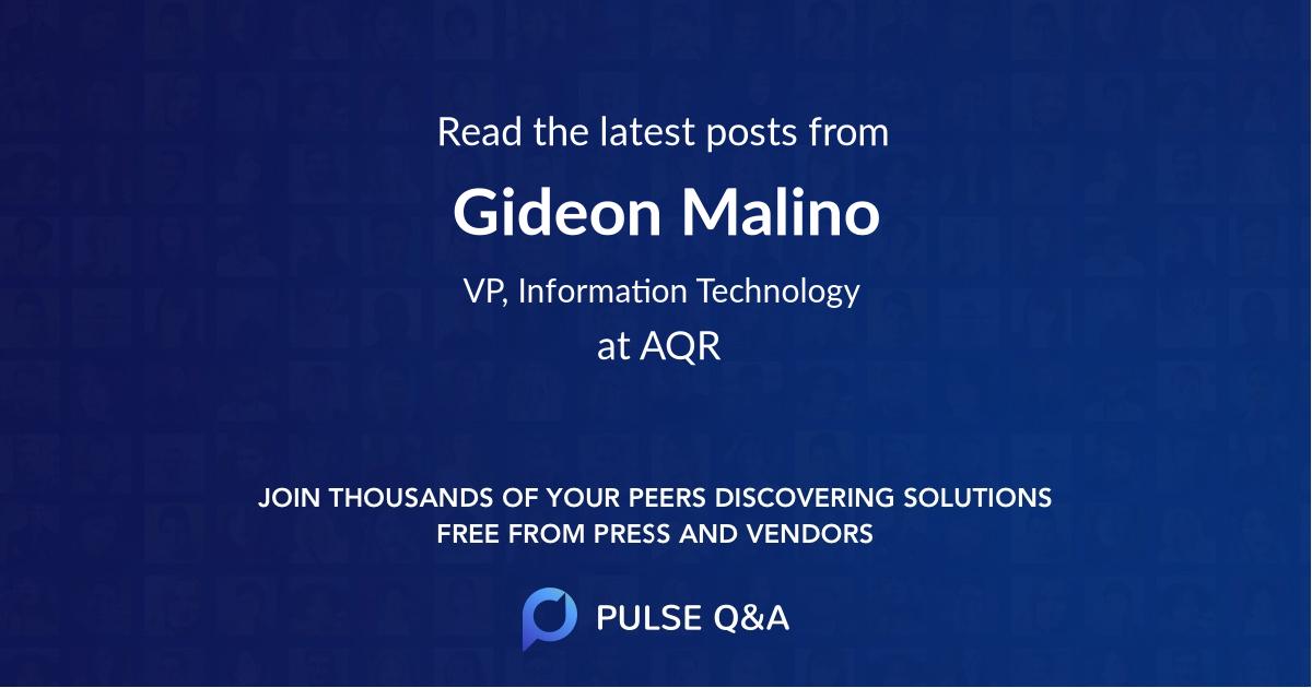 Gideon Malino