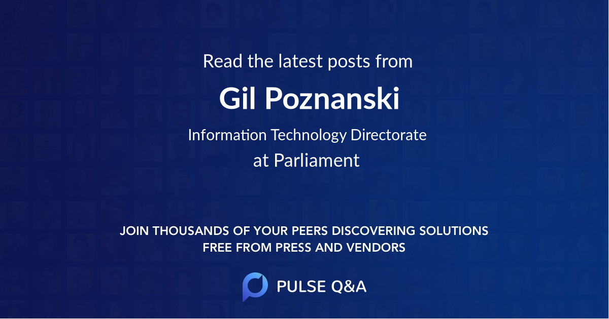 Gil Poznanski