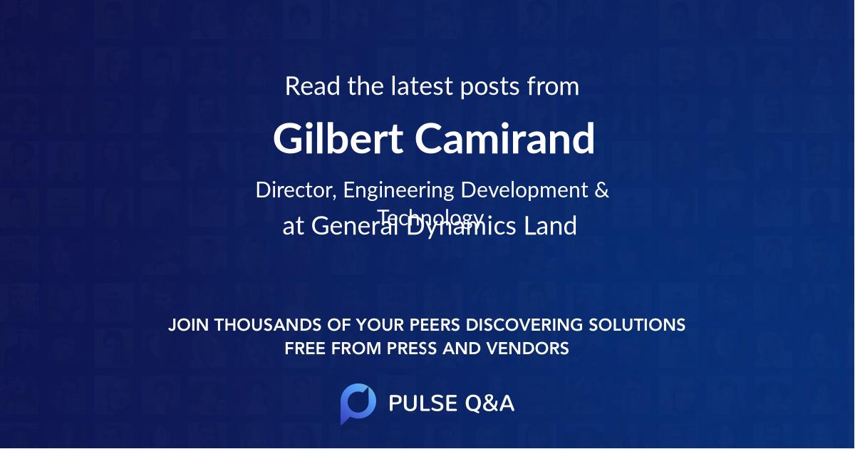 Gilbert Camirand