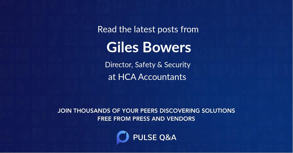 Giles Bowers