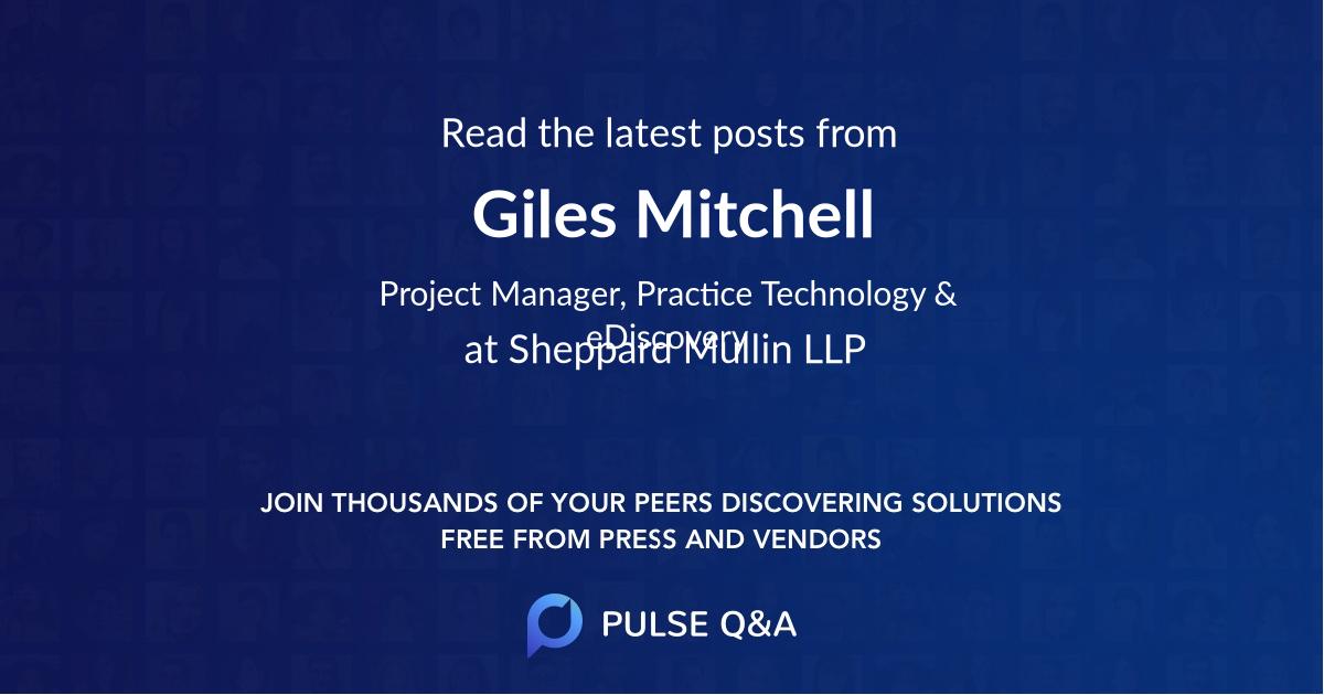 Giles Mitchell