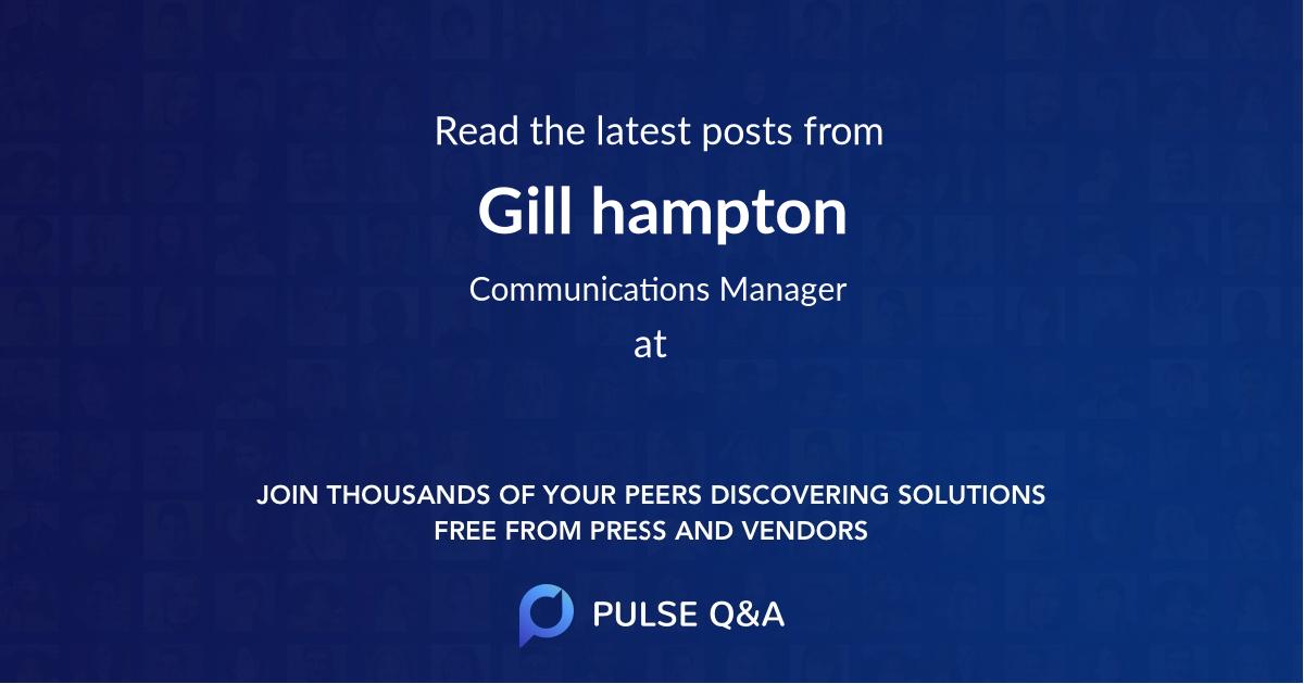 Gill hampton