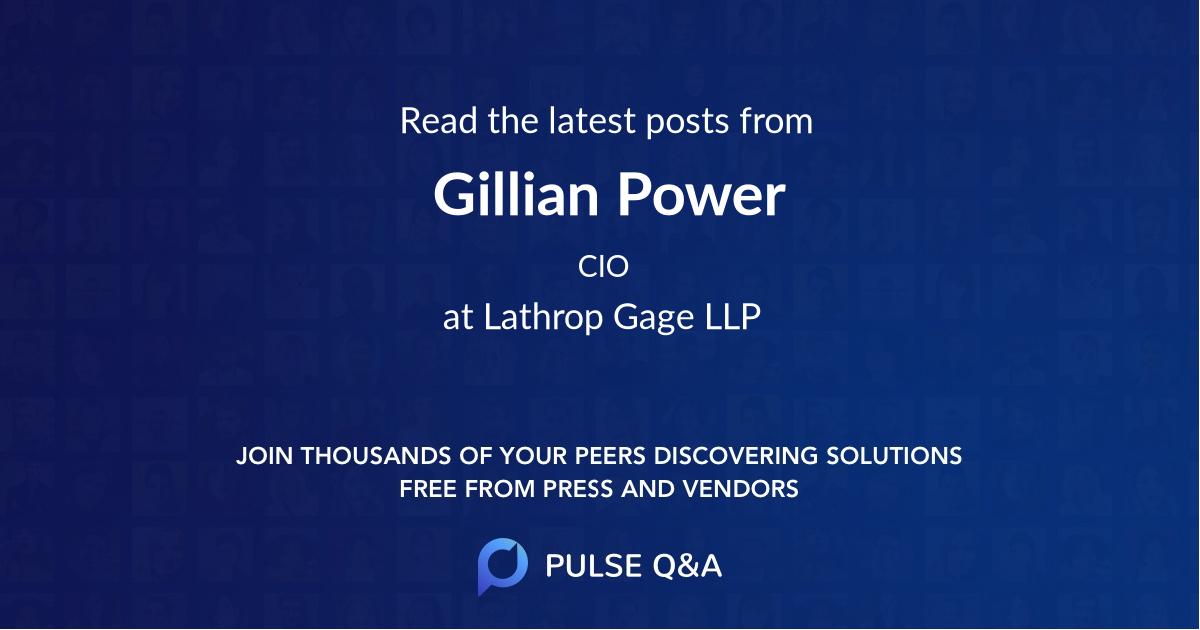 Gillian Power