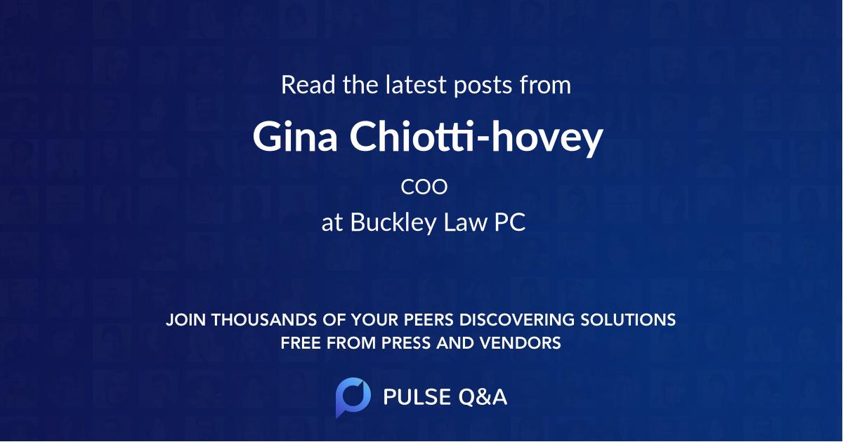 Gina Chiotti-hovey