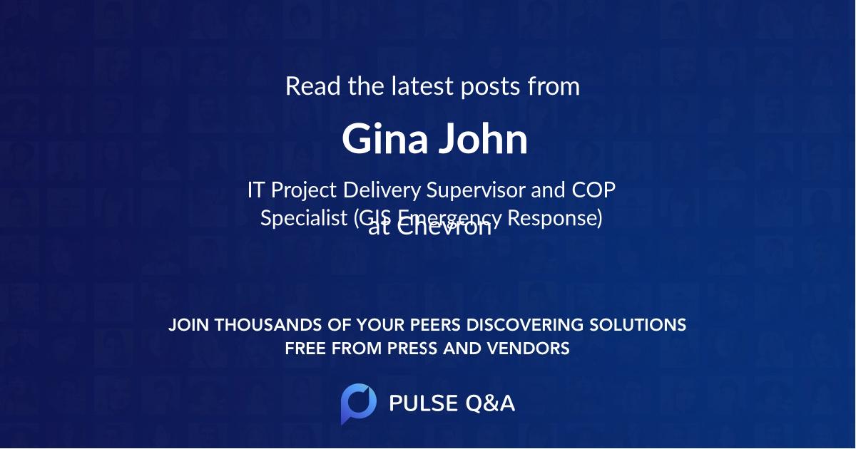 Gina John